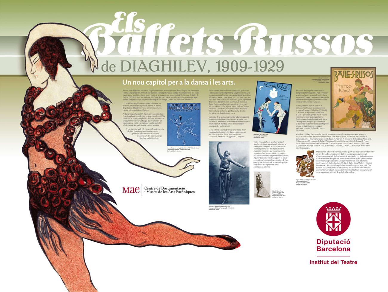 Exposició Ballets Russos