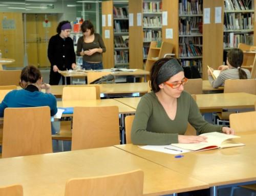 Nous horaris de les biblioteques del MAE, des del 28 de setembre