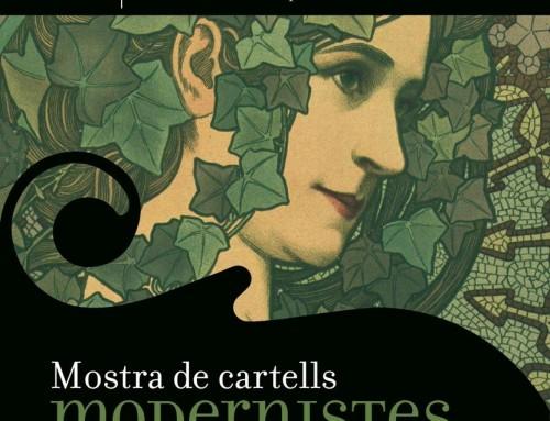 Exposició itinerant Mostra de cartells modernistes