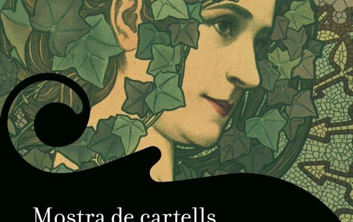 Cartell de l'exposició itinerant del MAE Mostra de cartells modernistes
