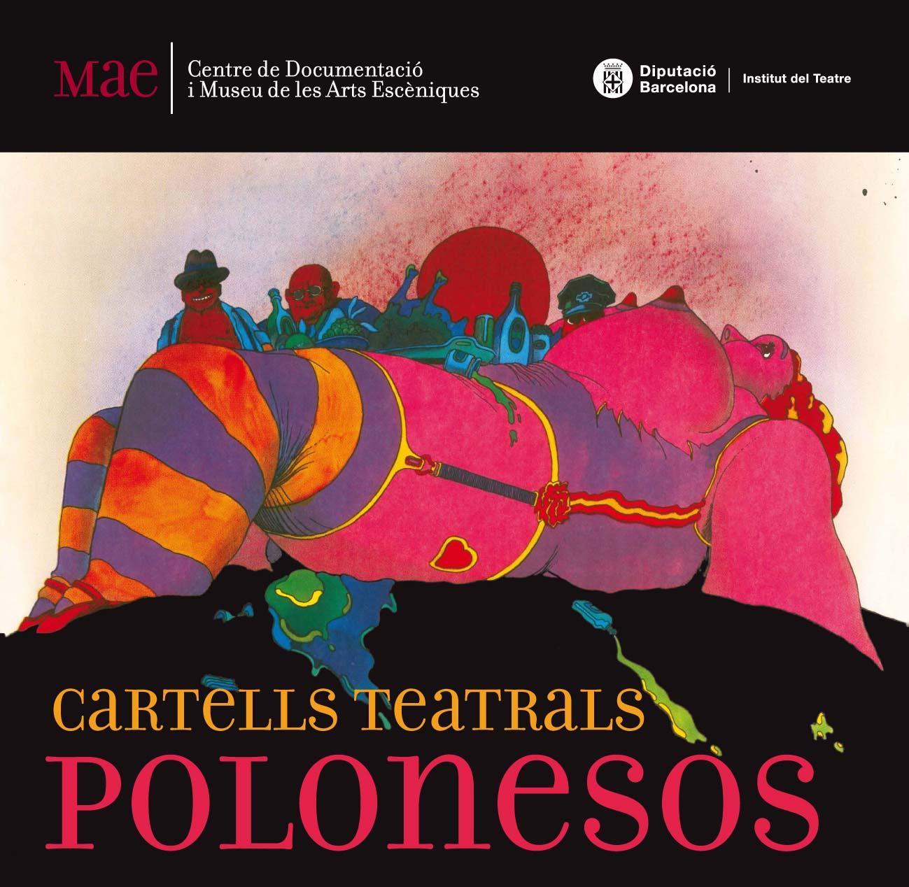 Cartell de l'exposició itinerant Cartells teatrals polonesos