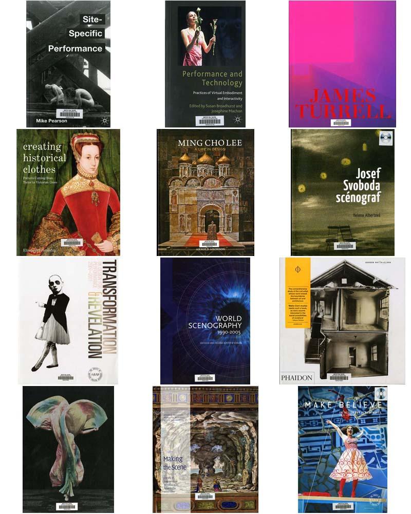 Novetats bibliogràfiques d'escenografia adquirides a la Quadriennal de Praga 2015