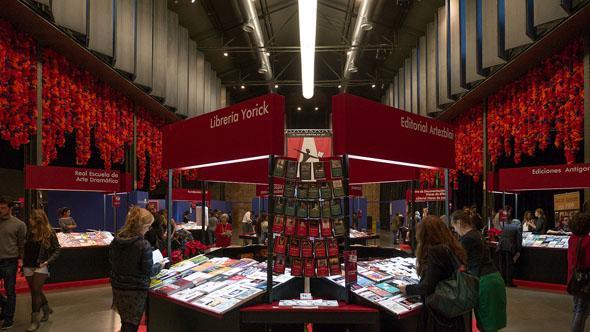Saló Internacional del llibre teatral a Matadero Madrid