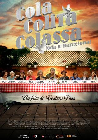 """Cartell de la pel·lícula documental """"Cola Colita Colassa"""" dirigida per Ventura Pons"""