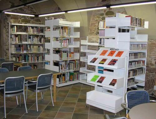 Biblioteca de Vic tancada