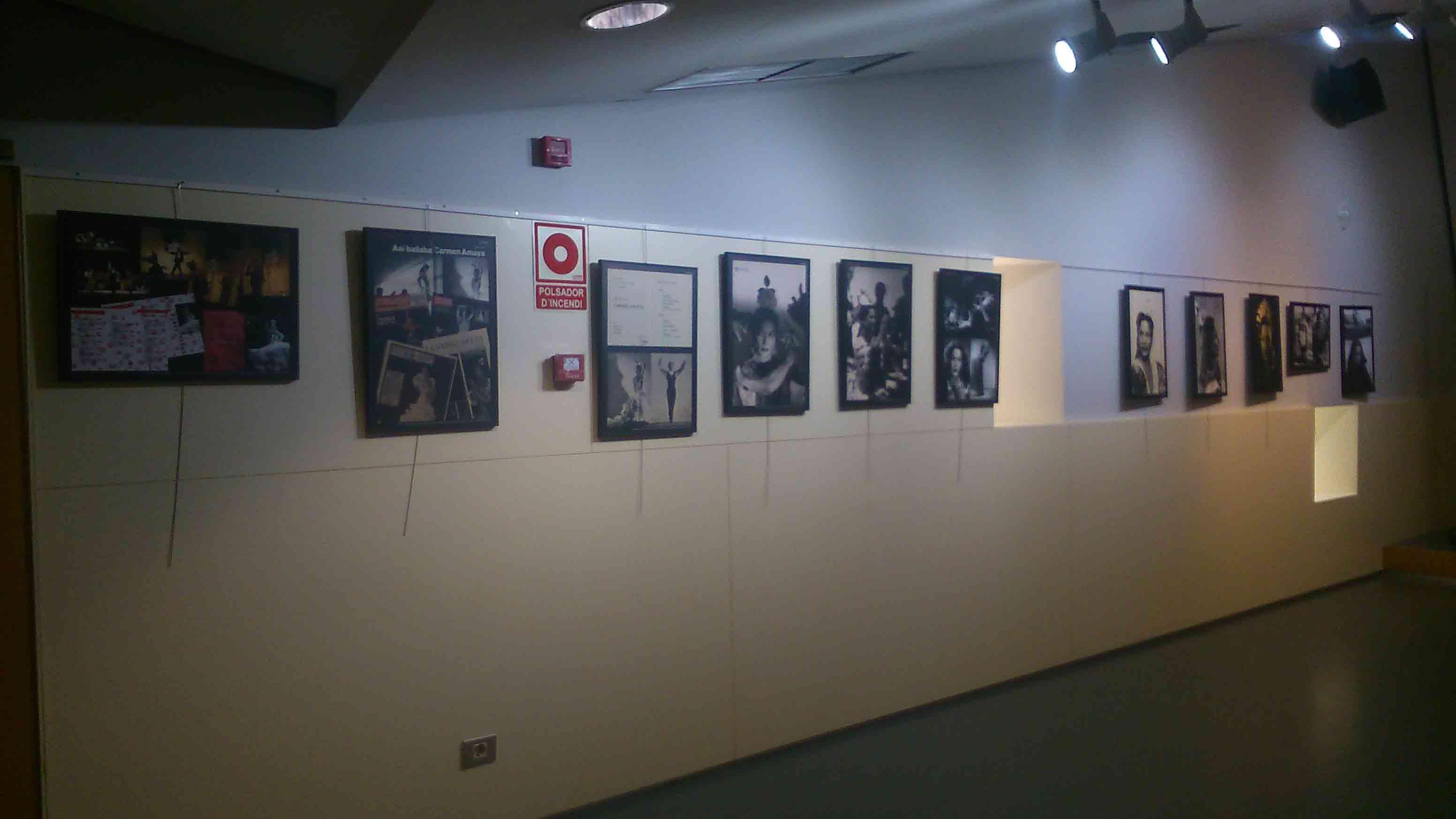 Exposició itinerant del MAE Carmen Amaya a la Biblioteca de Viladecans, del 29 de març al 29 d'abril de 2016
