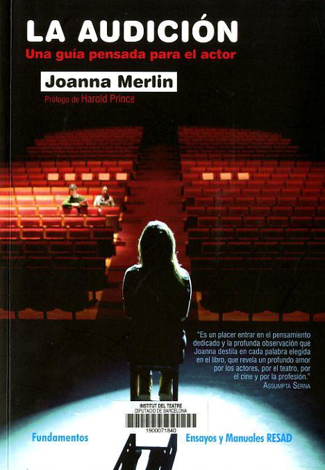 Coberta de La audición, de Joanna Merlin, publicat el 2016 per la RESAD i Fundamentos