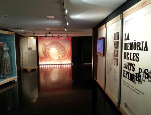 La sala d'exposicions es tanca el dilluns 28 d'octubre per la tarda