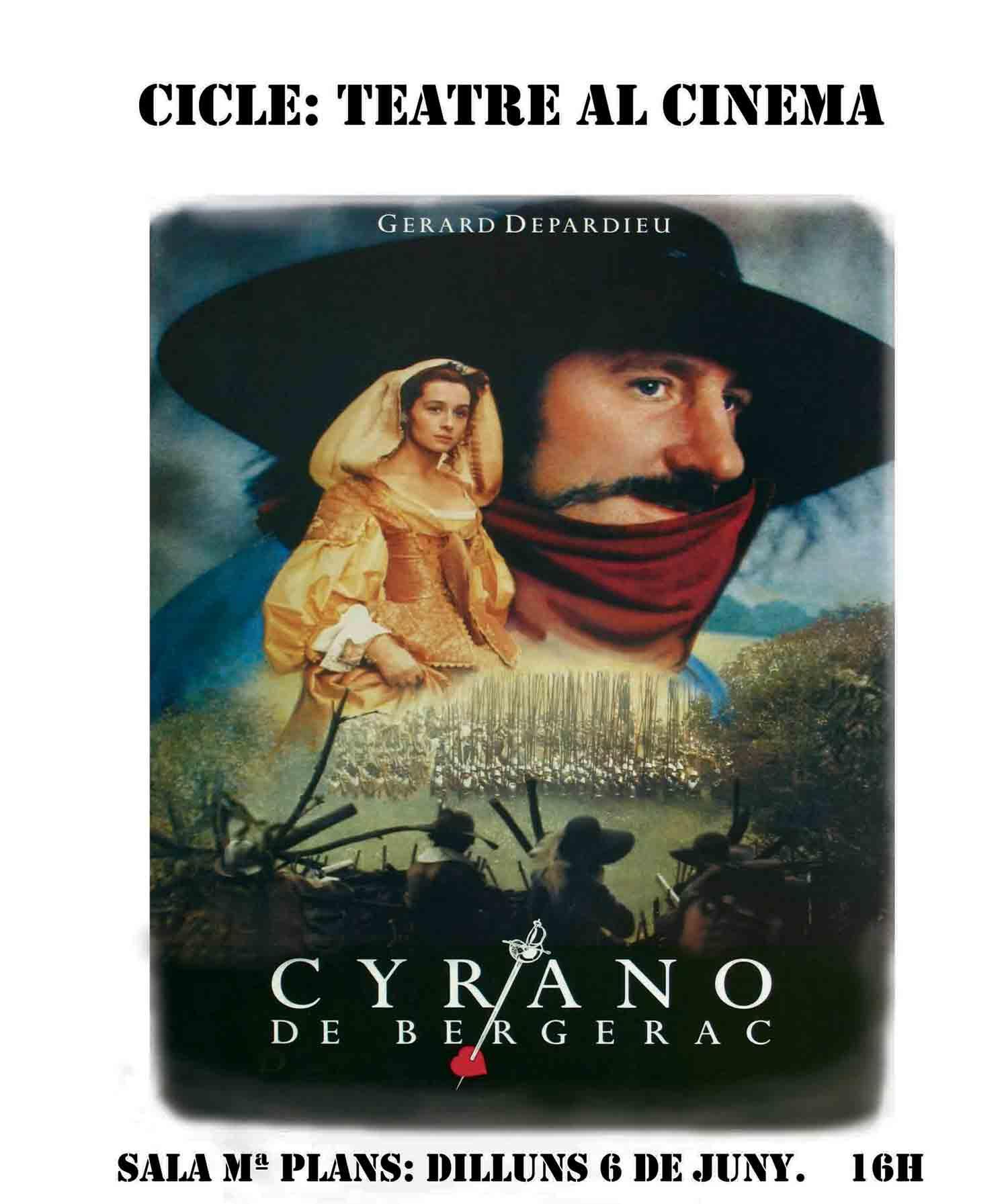Cicle Teatre al Cinema a la Sala Maria Plans del Centre del Vallès, 6 de juny 2016
