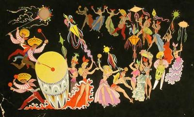 Esbós escenogràfic de Frances Nel·lo i Ventosa, ca 1940-1960