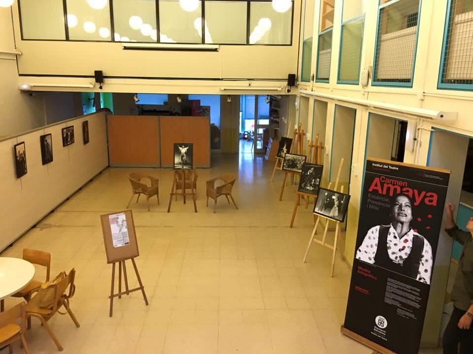 Exposició itinerant del MAE, Carmen Amaya, al Centre Cívic Trinitat Vella, de l'1 al 30 de juny de 2016