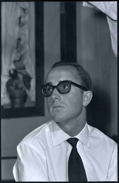 Retrat d'Antoni Chic del fotògraf Manel Gausa, 1963, Fons Manel Gausa del MAE