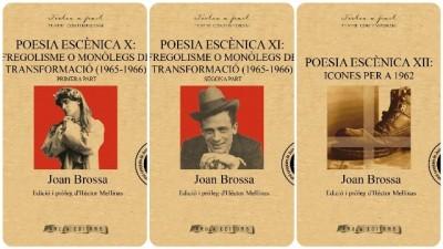 Cobertes de les obres de Joan Brossa publicades per Arola el 2016