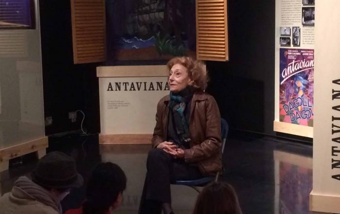 Julia Gutiérrez Caba. Visita al MAE. 22 març 2017