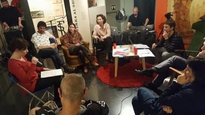 Núria Andreu, a l'espai de recomanacions de lectura i audiovisuals del programa de ràdio Això és un drama, 26 d'abril 2017