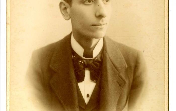 Retrat de l'actor Antoni Manso. Fotografia de Rafael Areñas, entre 1885 i 1891