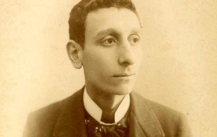 Retrat de l'actor Antoni Mansó. Fotografia de Rafael Areñas, entre 1885 i 1891