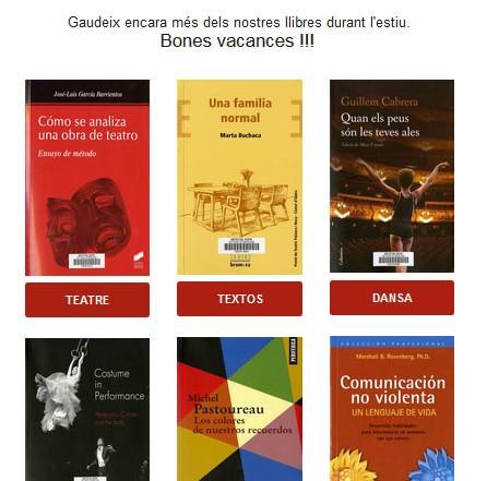 Butlletí de novetats bibliogràfiques i audiovisuals de juliol 2017