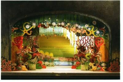 Teatrí de Josep Sumalla per Kosmòpolis, Teatre Olympia de Barcelona, 1928