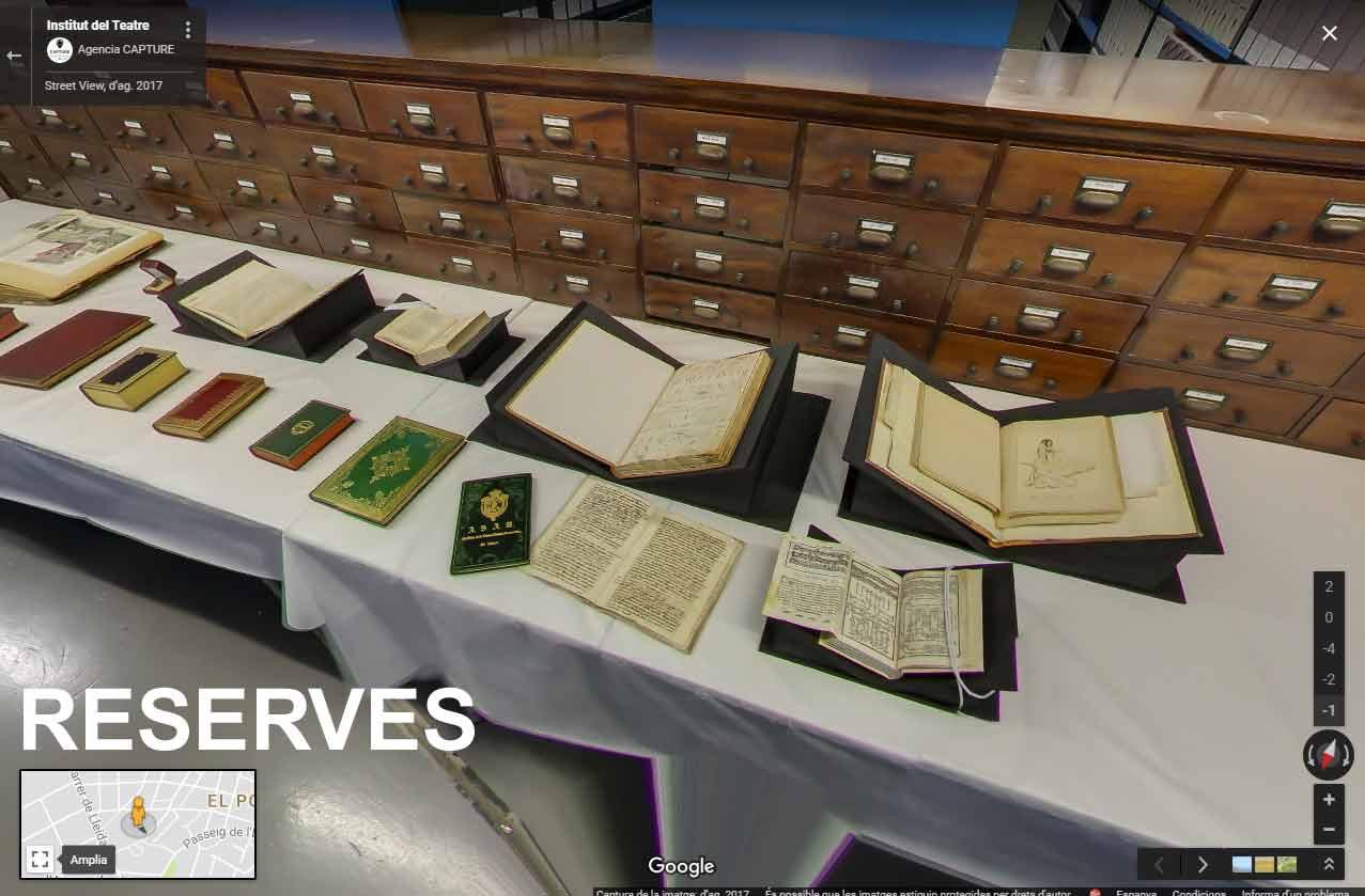 Reserves bibliogràfiques, audiovisuals i d'arxiu