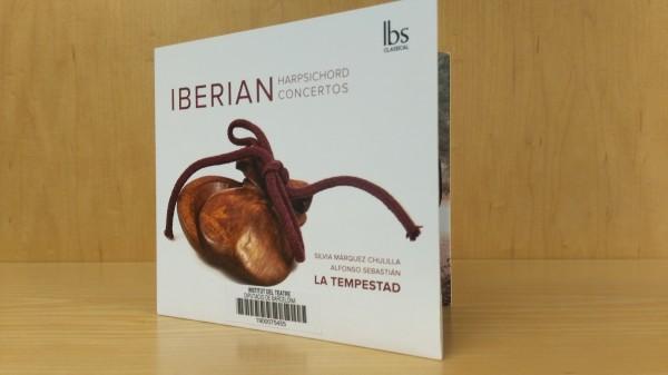 CD Iberian harpsichord concertos, de La tempestad editat per IBS classical el 2107