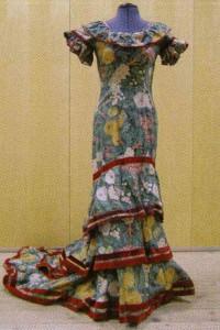 Vestit de Tórtola Valencia per La Gitana, dissenyat per Ignacio Zuloaga