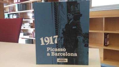 """Publicació amb fons del MAE: """"1917 : Picasso a Barcelona"""".Fundació Museu Picasso, 2017"""