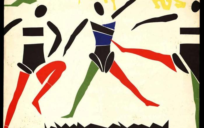 Cartell de Josep Guinovart per al Ballet Joan Tena, 1954 aproximadament