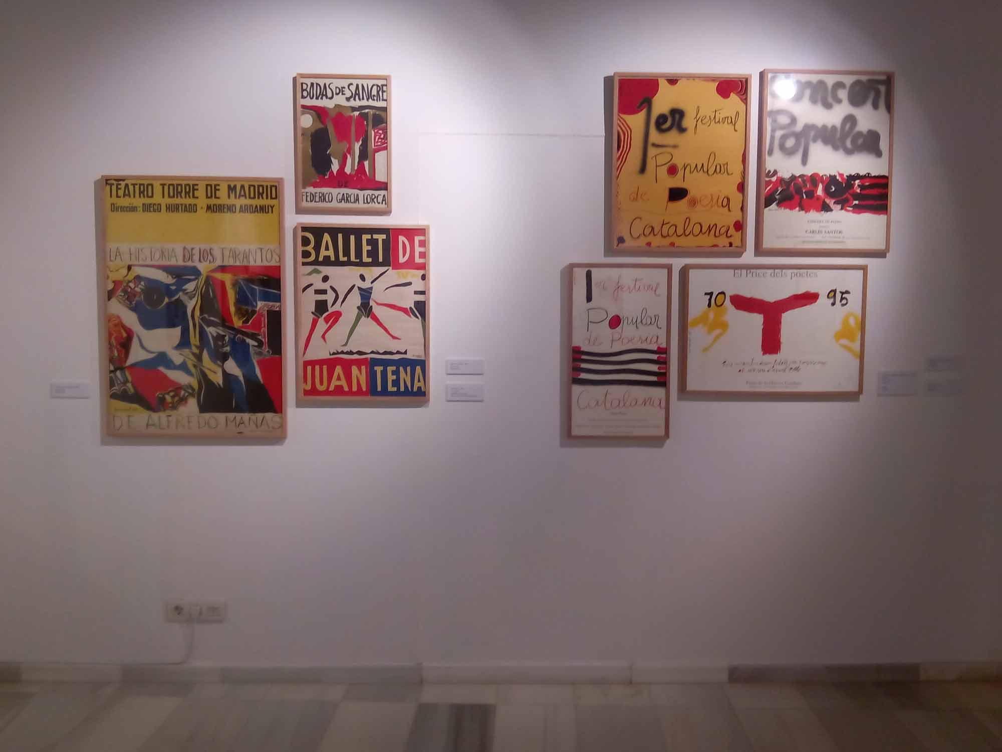 """Exposició """"Guinovart. Temps de cartells"""", Museu de l'Hospitalet, del 12 desembre 2017 al 28 gener 2018"""
