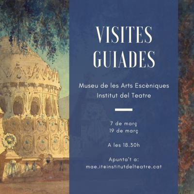 Visites guiades a l'exposició La memòria de les arts efímeres del mes de març de 2018