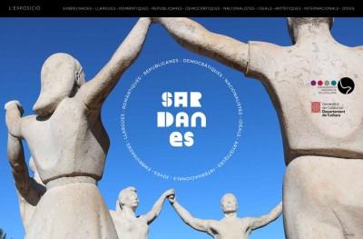 Exposició virtual Sardanes, inaugurada el 3 febre de 2018, de la Confederació Sardanista de Catalunya