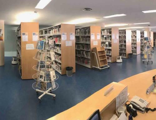 El 7 de desembre les biblioteques del MAE estan tancades