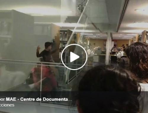 """Col·laboració docent amb el CSD. La biblioteca de Barcelona, una opció """"site specific"""" per a l'alumnat de l'IT"""