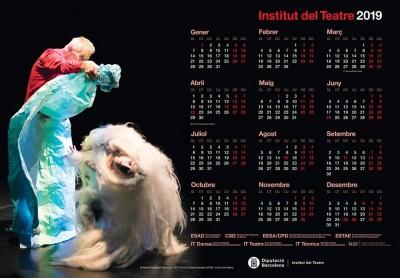 Calendari 2019 de l'Institut del Teatre