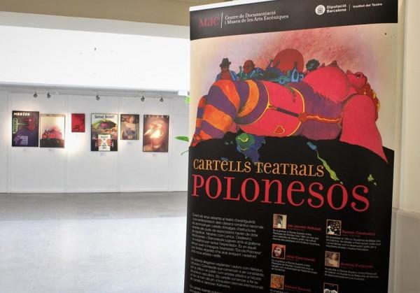 Exposició itinerant Cartells teatrals polonesos al Centre Cívic La Sagrera, del 15 gener al 9 febrer 2019