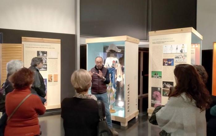 Visita guiada de l'Associació de Museòlegs de Catalunya , 21 gener 2019