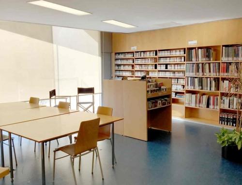 Remodelació de la biblioteca de Barcelona
