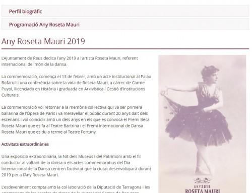 Any Roseta Mauri 2019