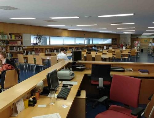 Horari d'estiu de les biblioteques del MAE