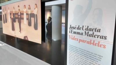 """Exposició """"José de Udaeta i Emma Maleras. Vides paral·leles"""", Vestíbul de l'Institut del Teatre, del 10 d'abril al 30 setembre 2019"""