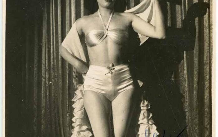 Maty Mont, fotografia d'Alfonso aproximadament 1947. Col·lecció Jaume Batlle del MAE