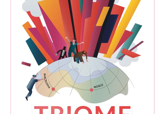 Exposició Triomf. Les arts escèniques russes 1900-1929, de la Casa de Rússia. Vestíbul de l'Institut del Teatre, del 20 de novembre de 2019 al 15 de gener de 2020