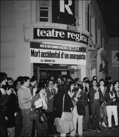 Teatre Regina, 1981