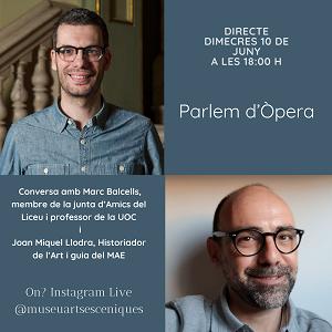 Conversa d'òpera Instagram live MAE, 10 juny 2020 18h