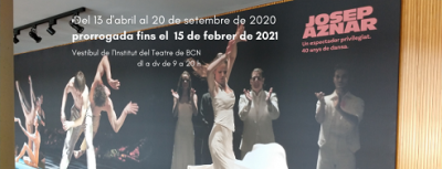 """Exposició temporal """"Josep Aznar. Un espectador privilegiat. 40 anys de dansa"""", prorrogada fins el 15 de febrer de 2021"""