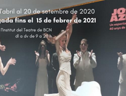 """Prorroguem l'exposició """"Josep Aznar. Un espectador privilegiat. 40 anys de dansa"""""""