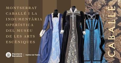 Exposició virtual Montserrat Cabalé i la indumentària operística del Museu de les Arts Escèniques, 2020