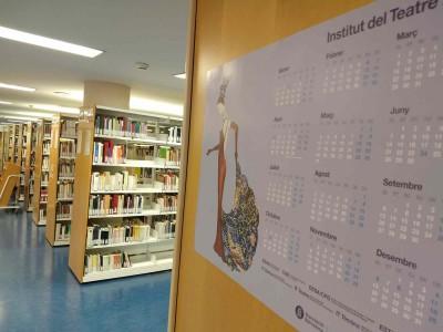 Biblioteca de Barcelona del MAE, gener 2021