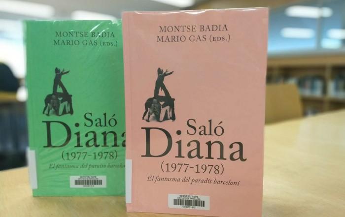Edició catalana i castellana de Saló Diana (1977-1978, editat per Arcàdia i Ajuntament de Barcelona el 2020, i que reprodueixen documents dels fons del MAE