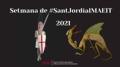 Setmana de Sant Jordi al MAE 2021